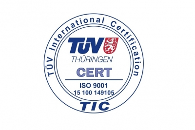 M3 certificated by TÜV